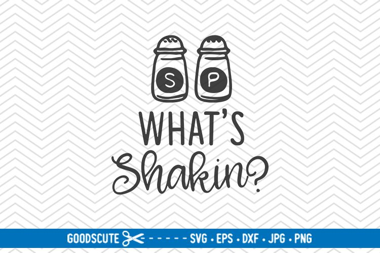What's Shakin - SVG DXF JPG PNG EPS example image 1
