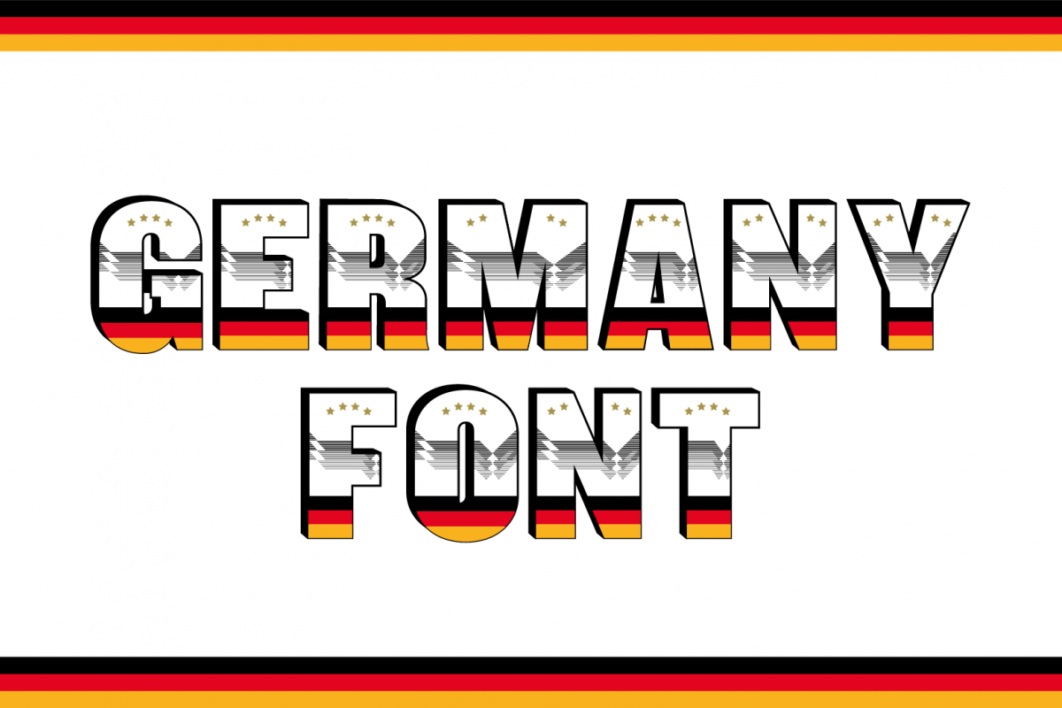 Germany Font example image 1