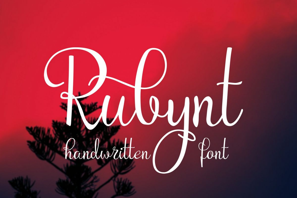 Rubynt Font example image 1