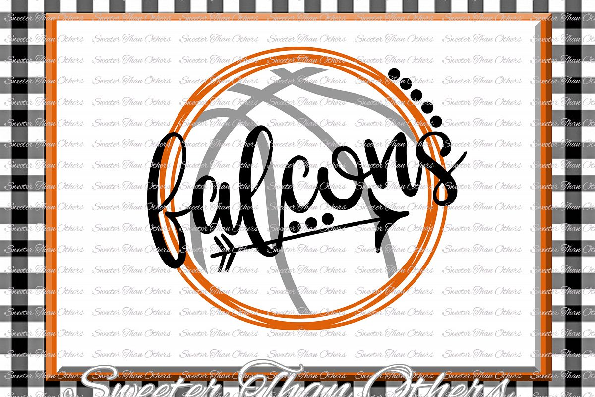 Basketball SVG, Falcons svg, Falcons Basketball svg example image 1