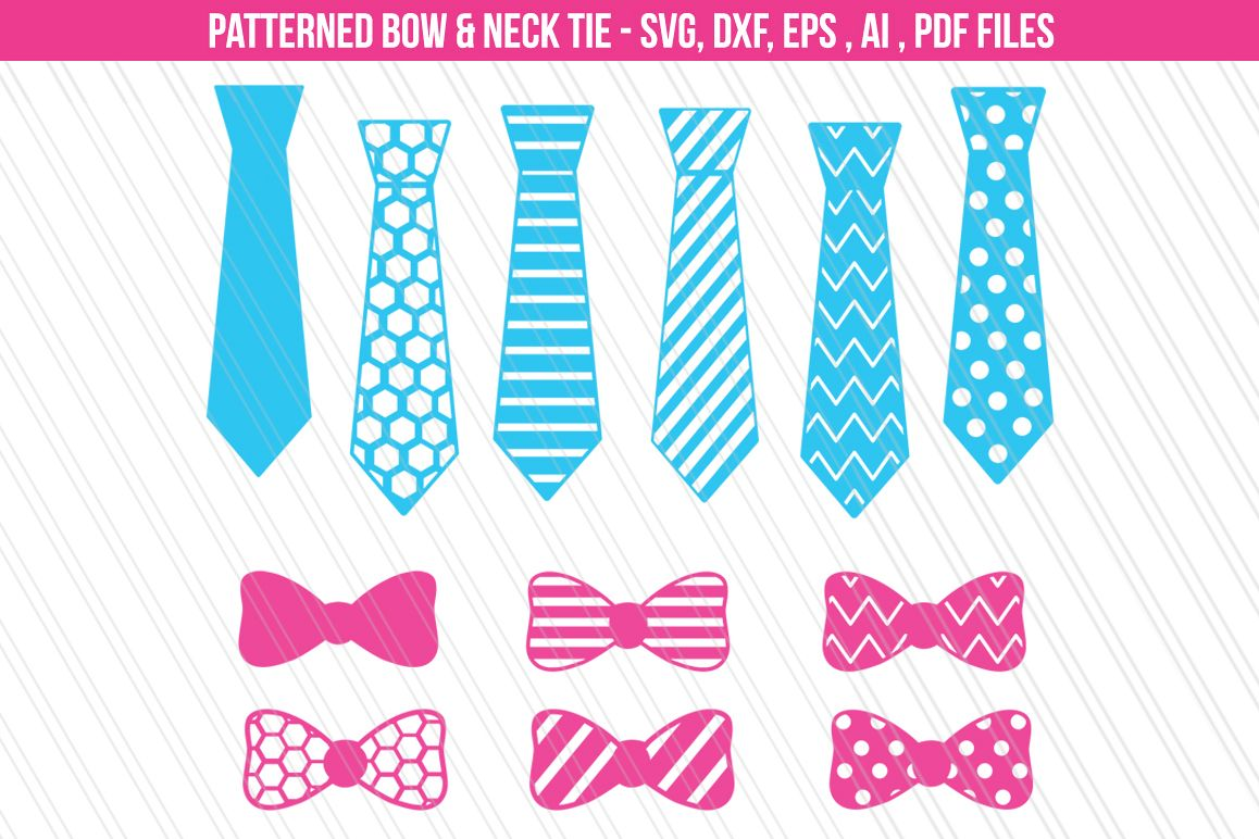 Tie bow svg / Father's day svg example image 1