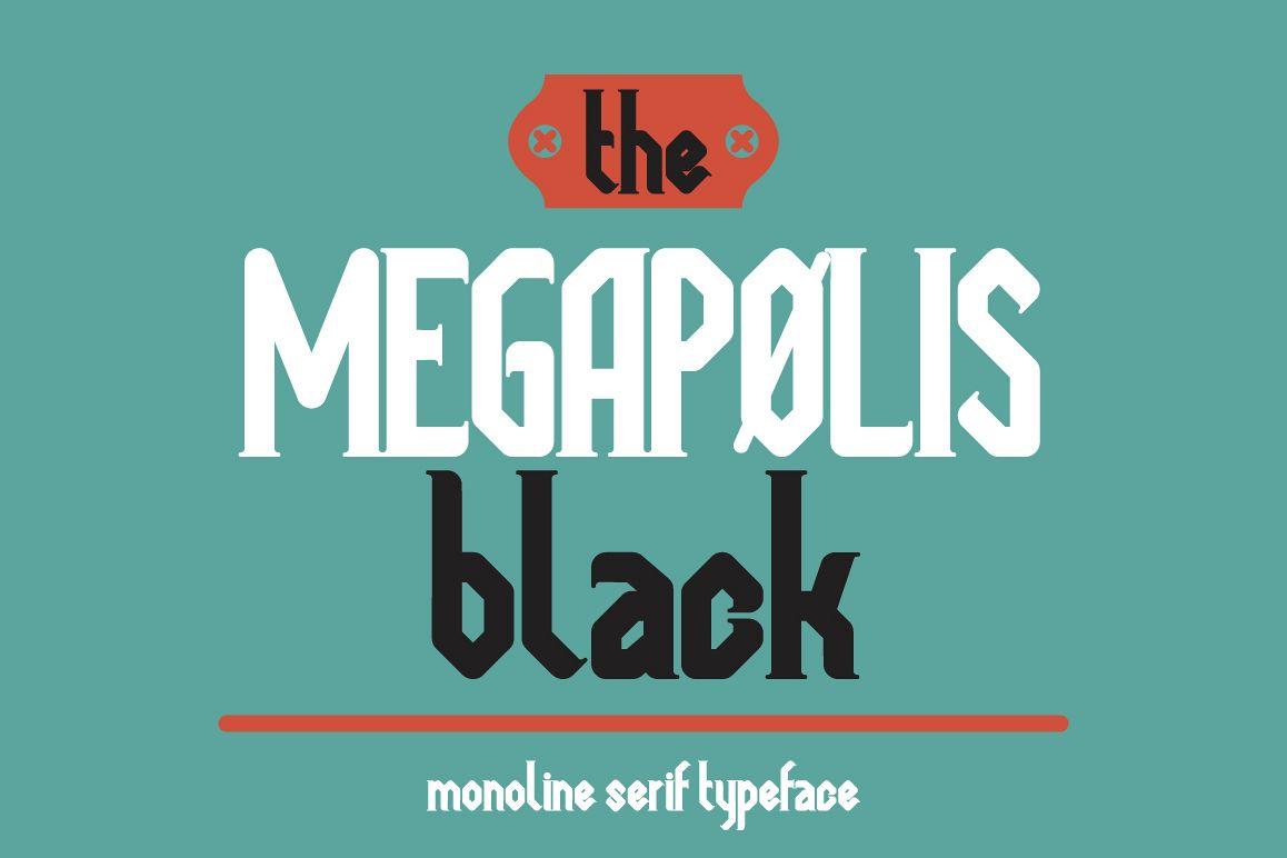 Megapolis black example image 1