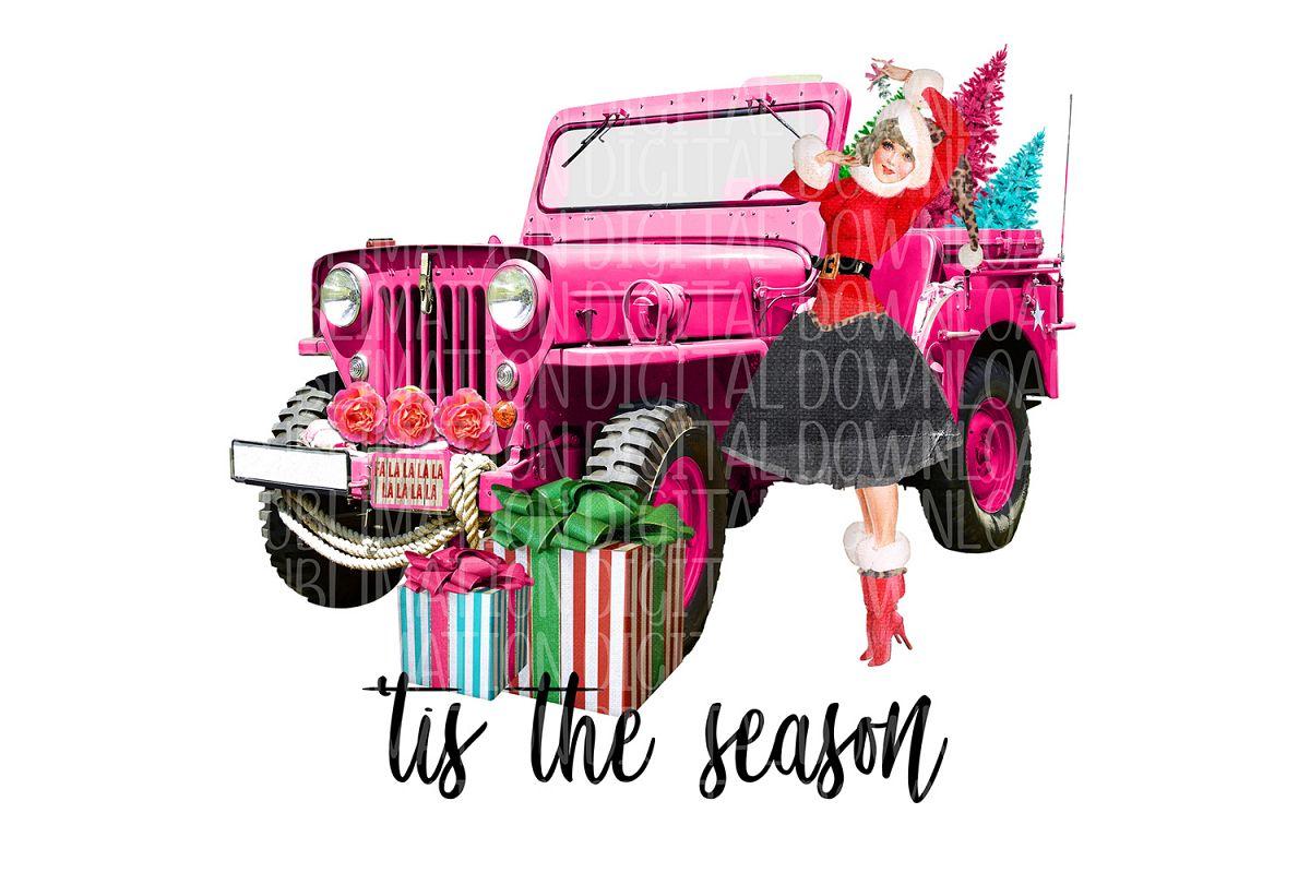 'Tis The Season Sublimation Digital Download example image 1