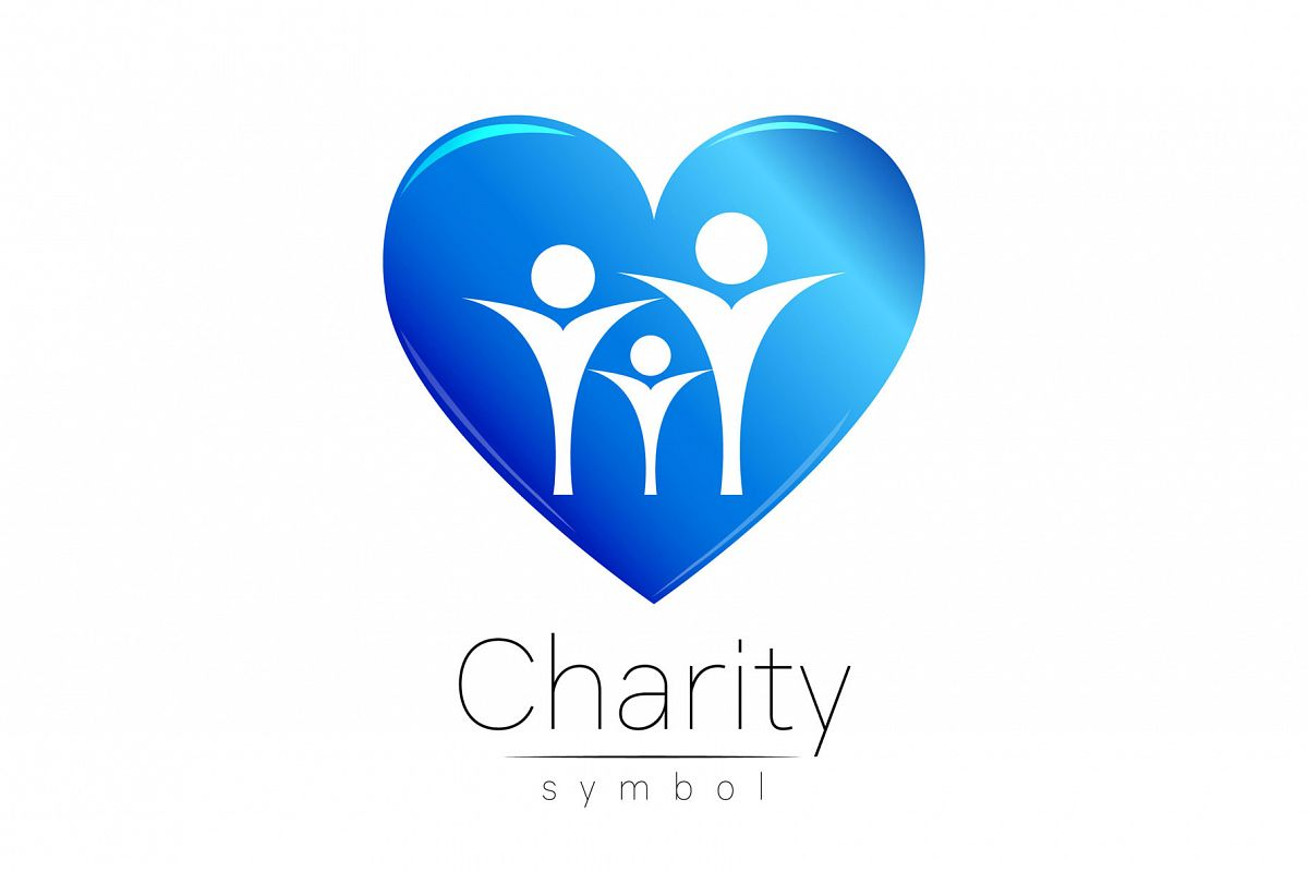 Symbol Of Charity Logo By Wittmann Design Bundles