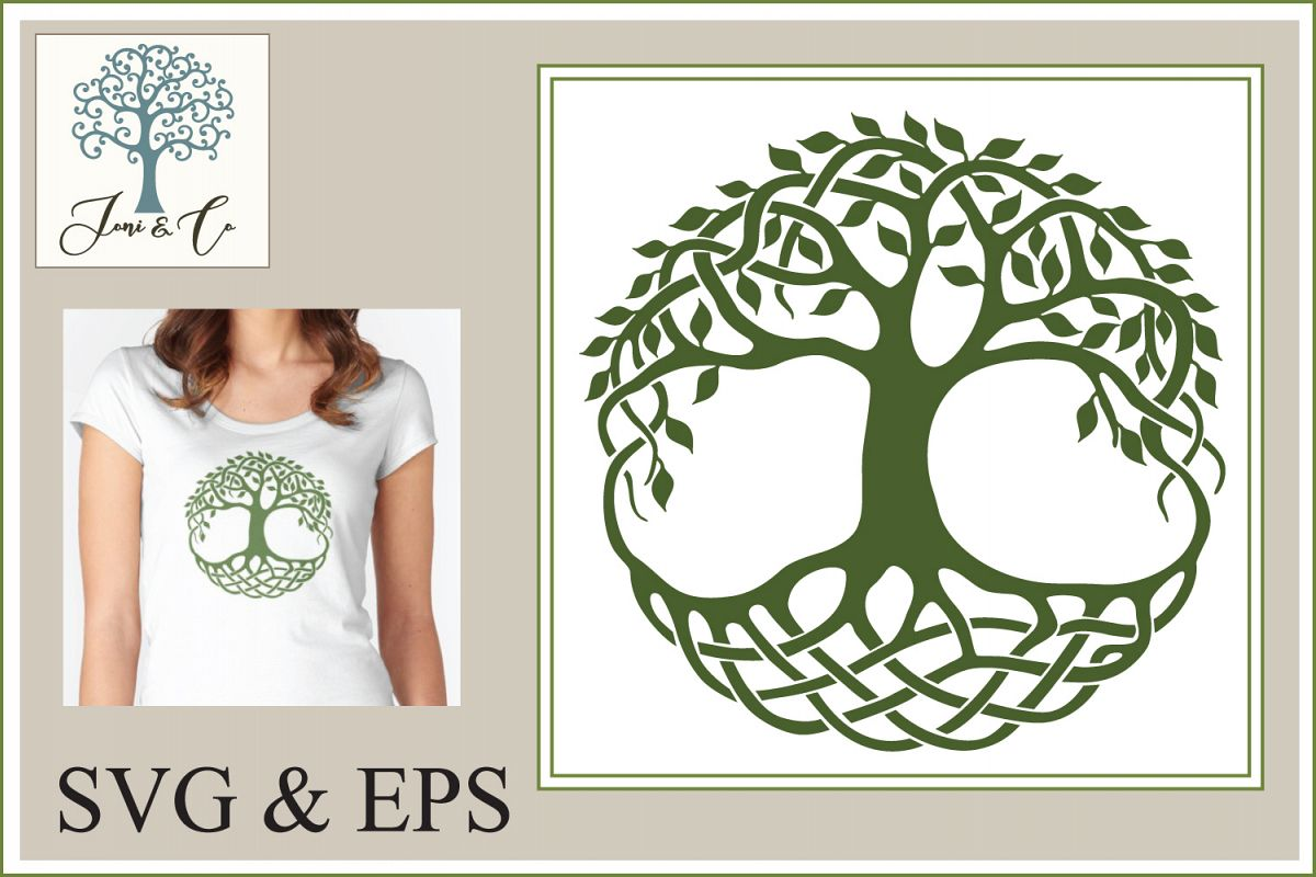 Celtic Tree of Life example image 1