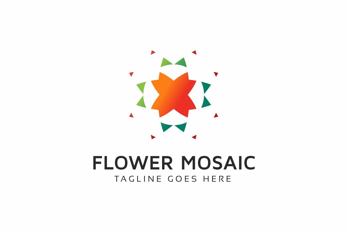 Tech Flower Logo example image 1