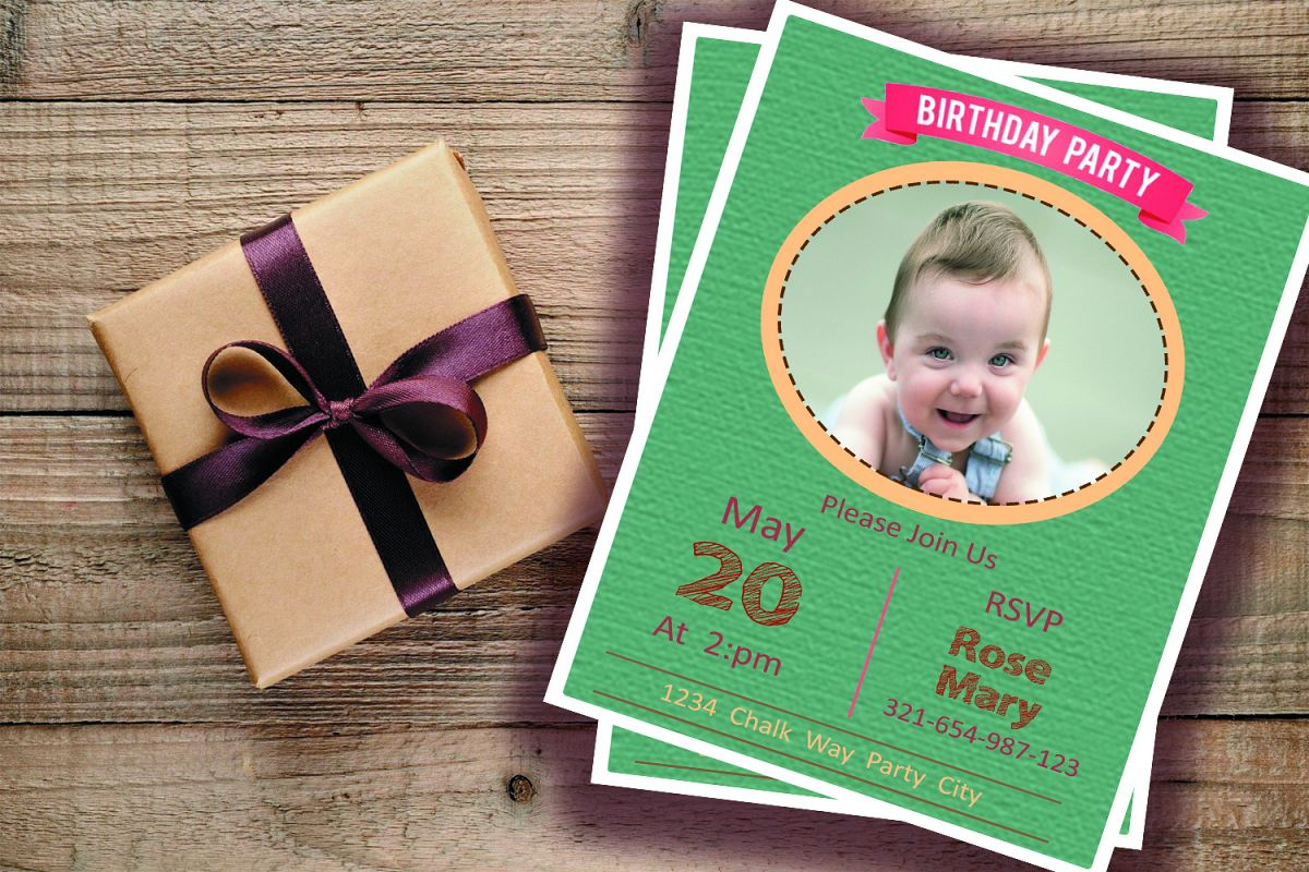 birthday invitation example image 1