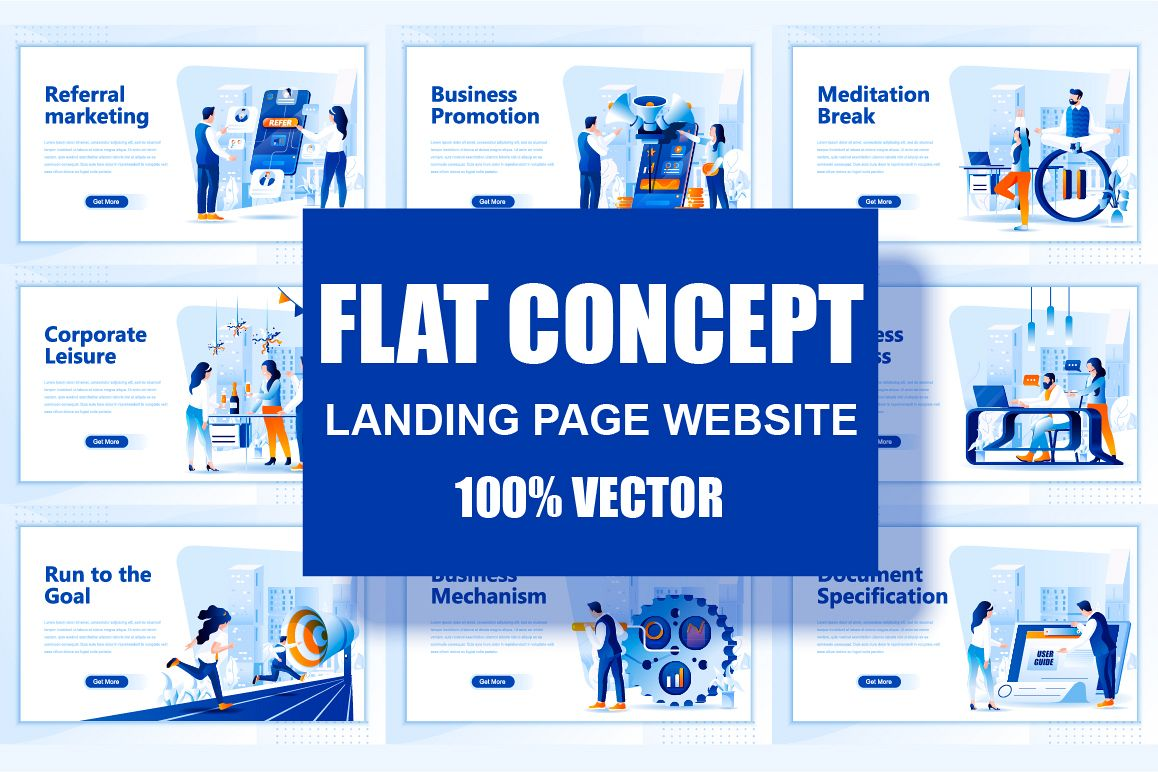 Bundle Landing Page Template Header example image 1