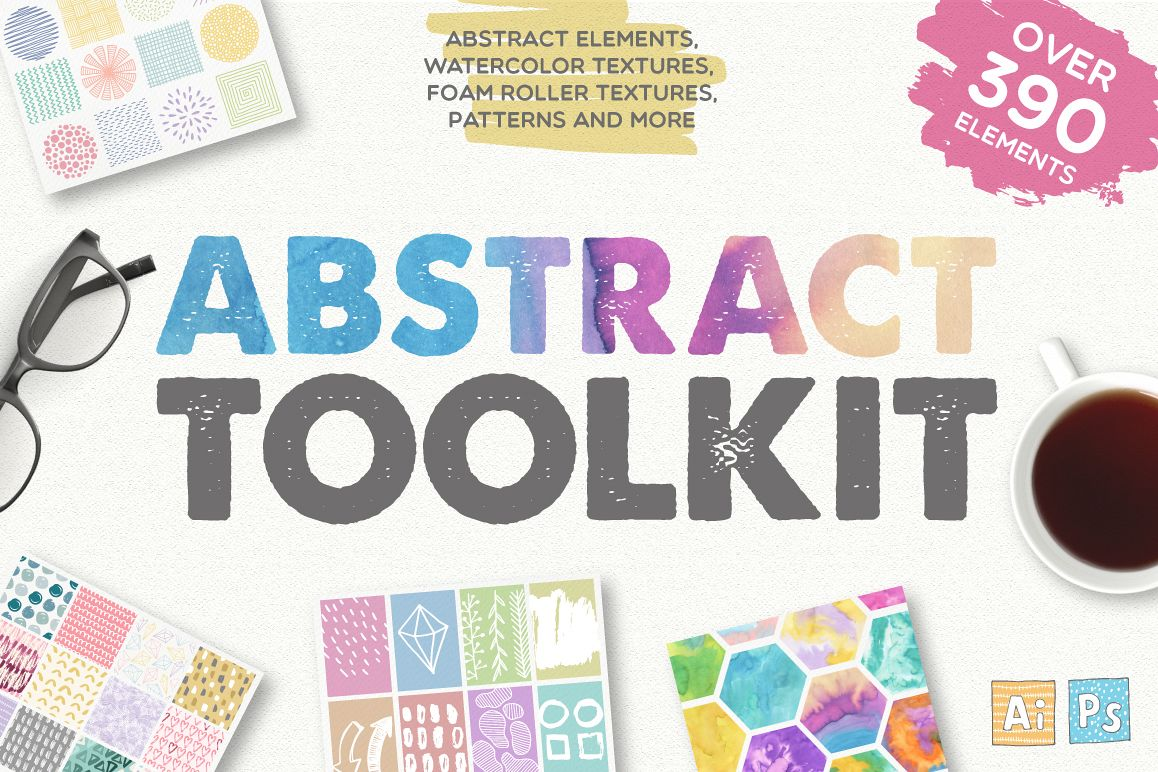 Abstract Toolkit [390 elements] example image 1