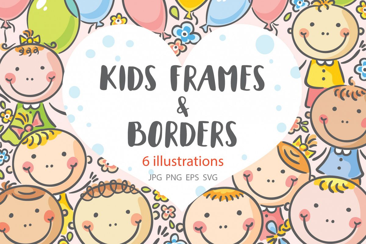 Kids frames and borders