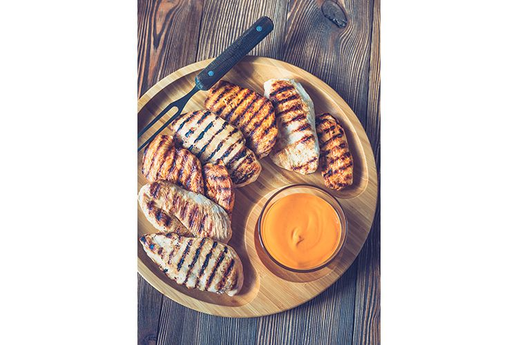 Grilled chicken breast example image 1