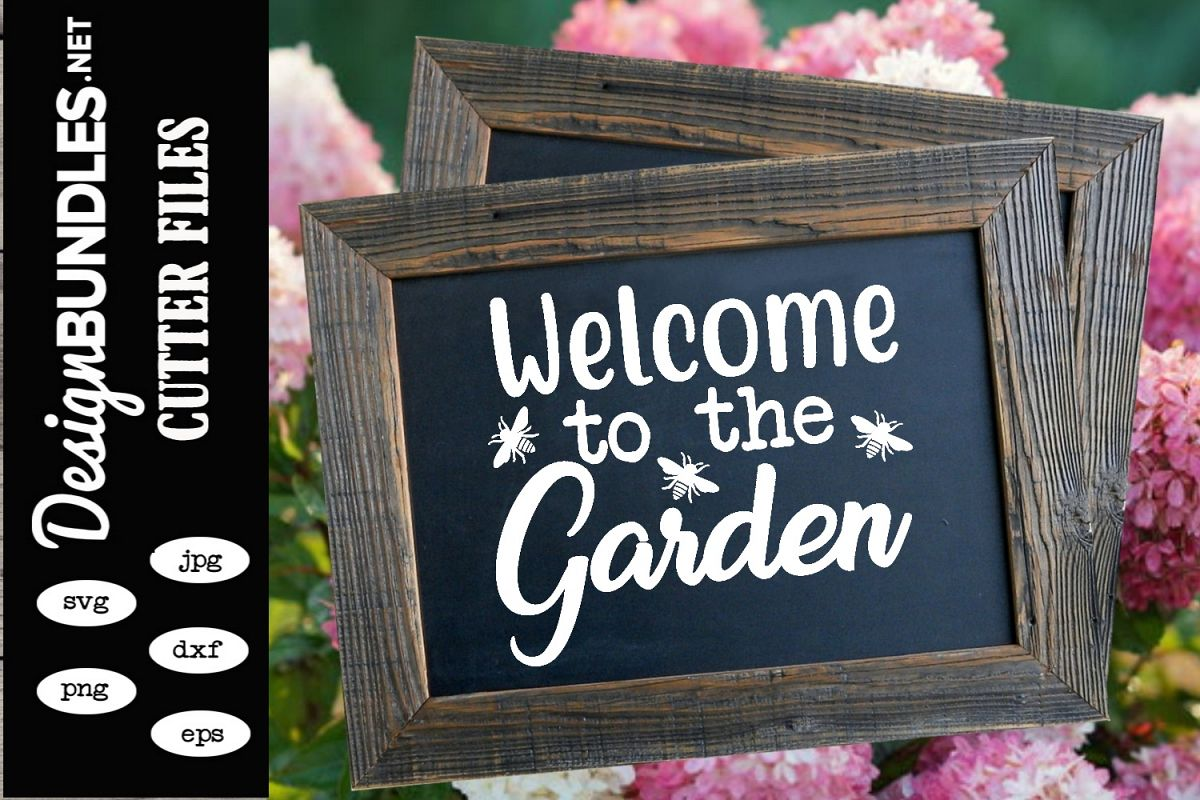 Welcome To The Garden SVG example image 1