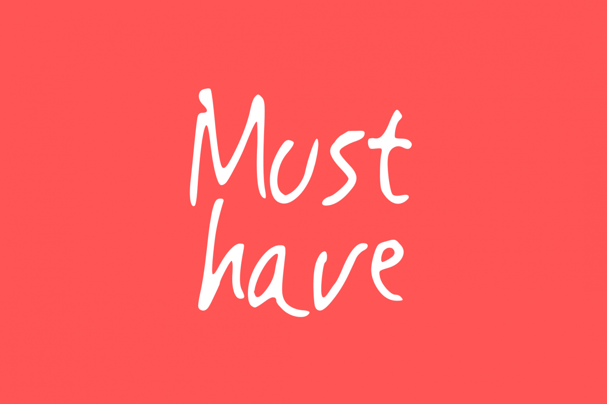 Must Have | Handwritting Font example image 1