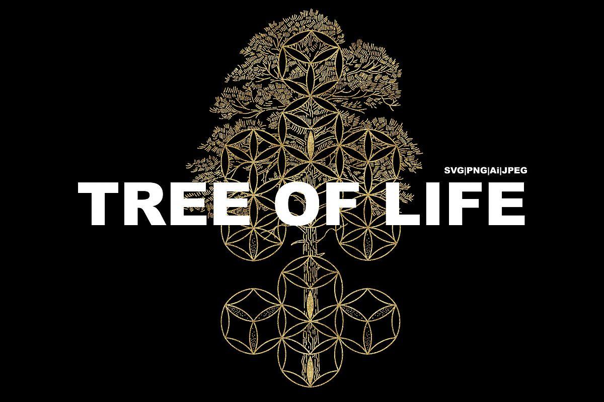 Tree of Life. SVG|PNG|Ai|JPEG example image 1