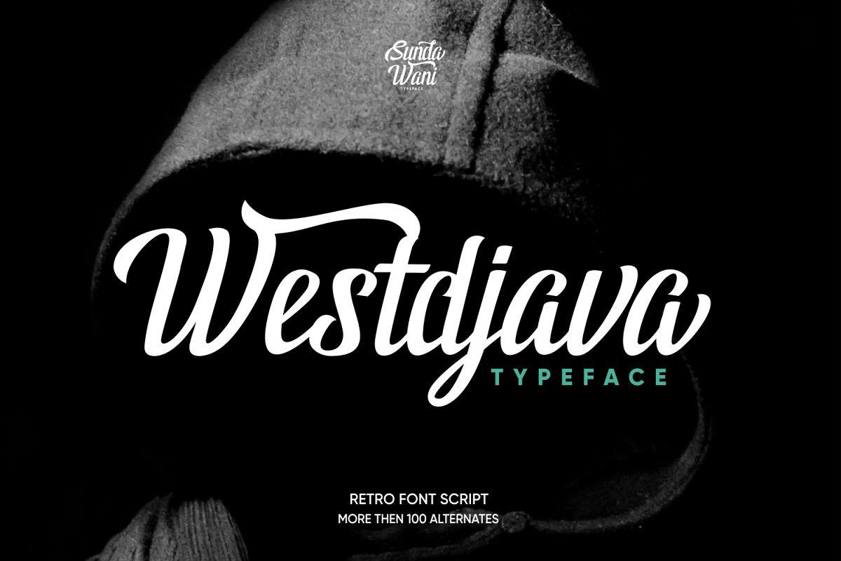 Westdjava Typeface example image 1