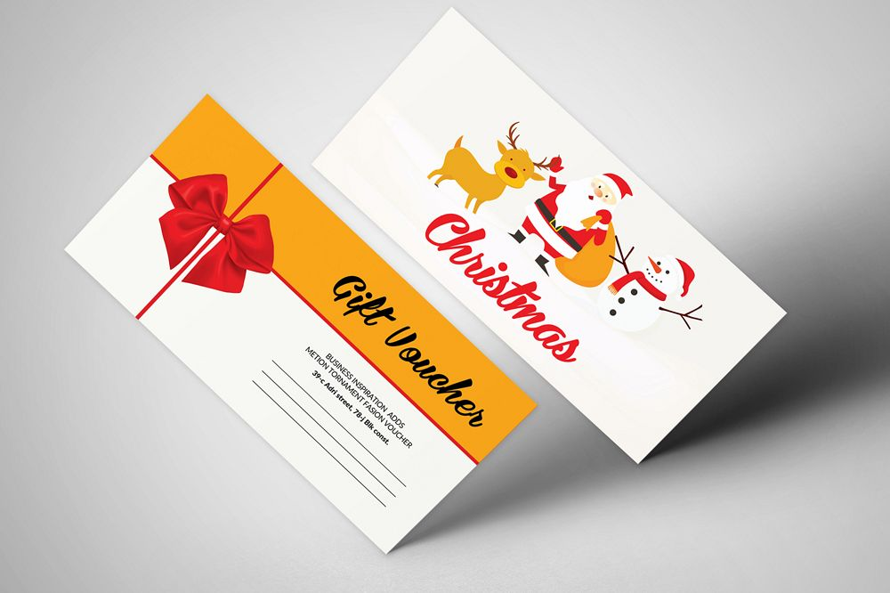 Christmas Celebration Gift Voucher example image 1