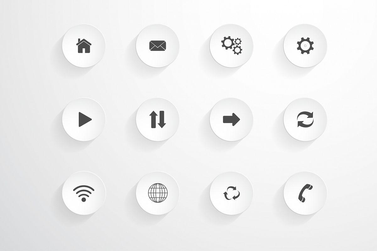 Icon set. example image 1