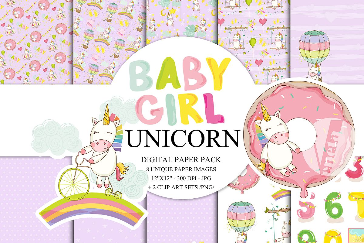 photo regarding Printable Hot Air Balloon called Rainbow Unicorn Electronic Paper Pack Immediate Down load Printable Scorching Air Balloon Youngster Woman Nursery Little one Shower Red Enchanted ClipArt 12x12