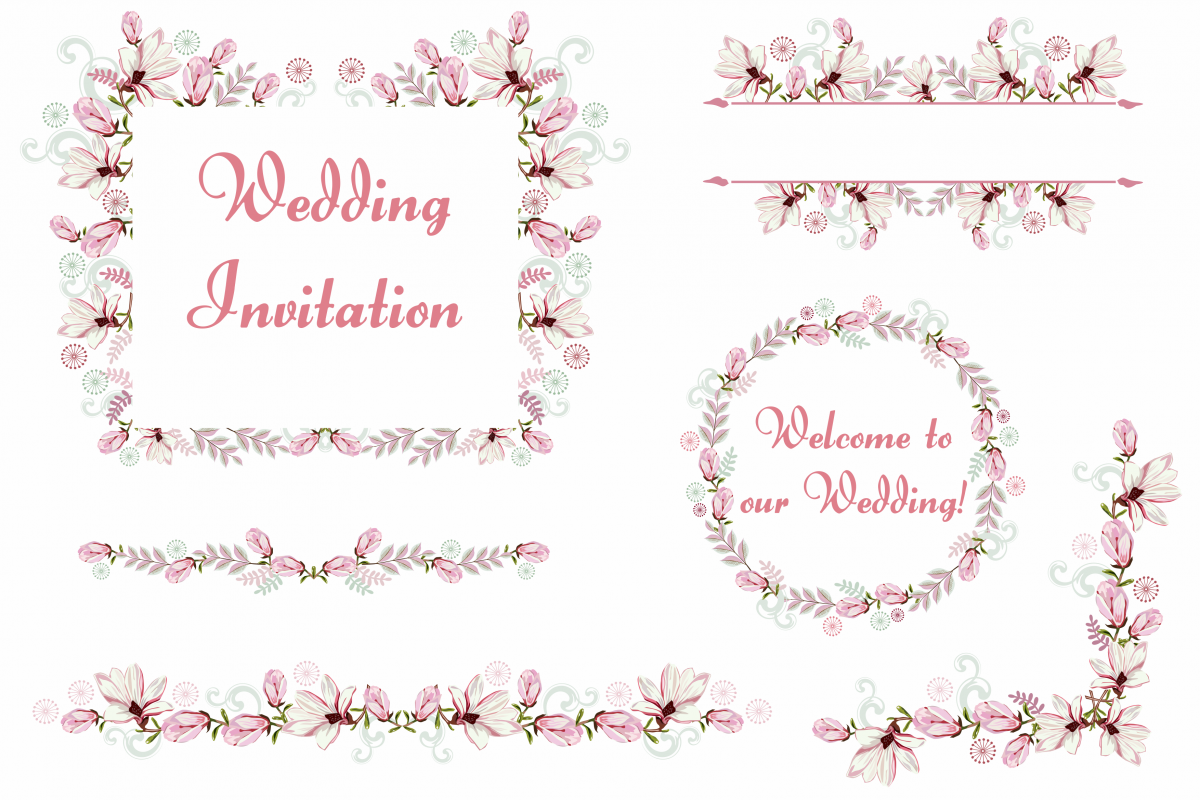 Bundle wedding party decorations clipa design bundles bundle wedding party decorations clipart vector svg png vr junglespirit Gallery