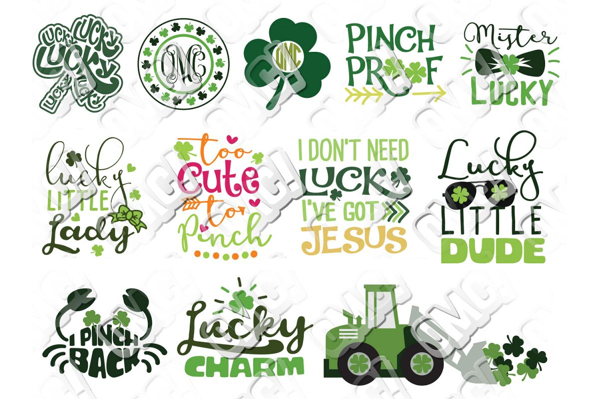a1fa3904 St. Patrick's Day SVG Bundle example image 1