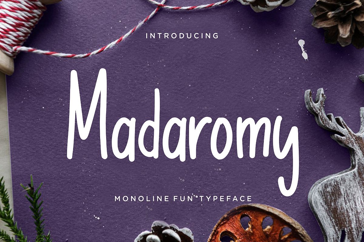 Madaromy Fun Monoline example image 1