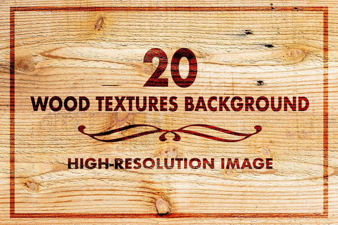 20 Wood Texture Background set 02 example image 1