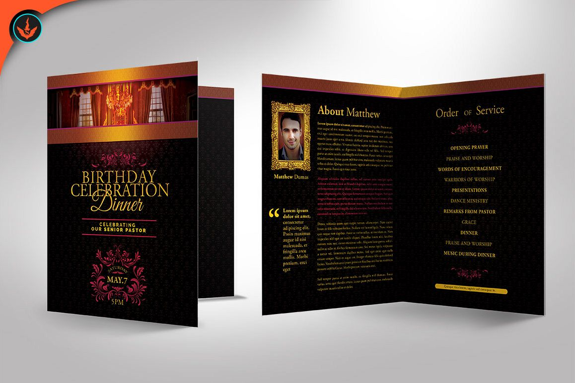Royal birthday celebration event program template royal birthday celebration event program template example image 1 maxwellsz