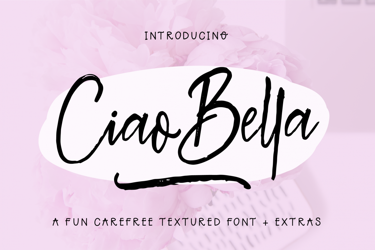 Ciao Bella Font + Extras example image 1