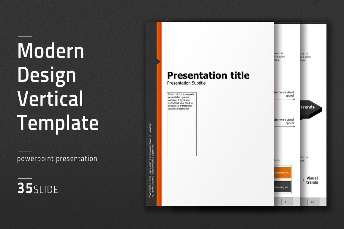 Modern Design Template Vertical example image 1