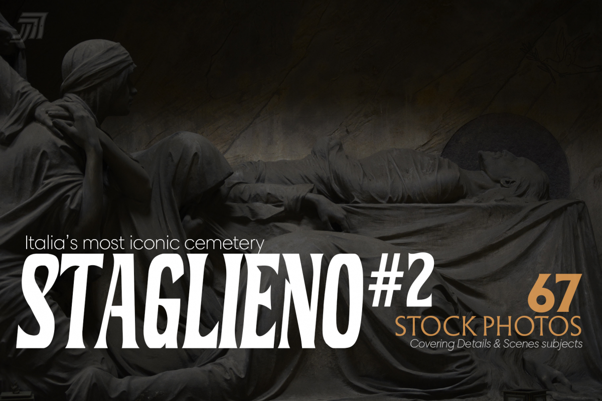 STAGLIENO#2 Funeral Art Stock Bundle example image 1