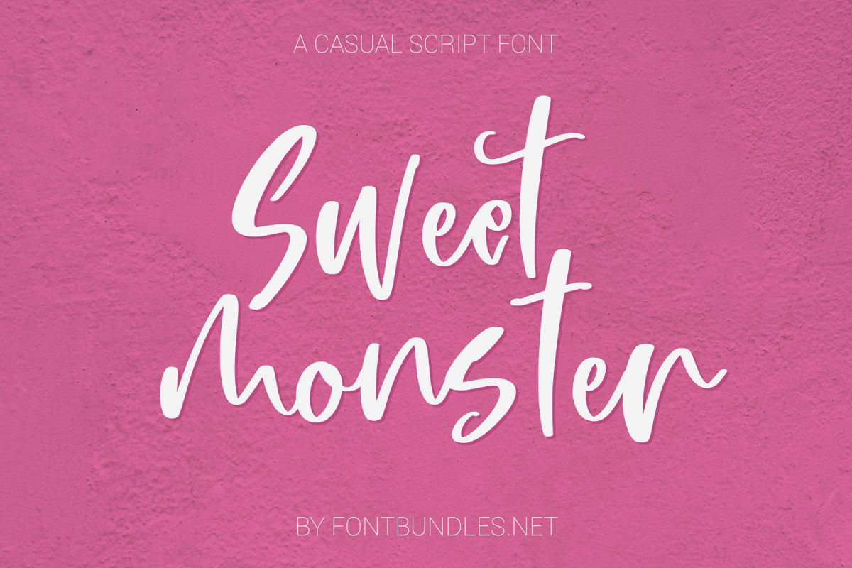 Sweet Monster Script example image 1