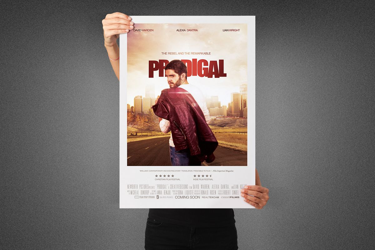 Prodigal Movie Poster Template example image 1