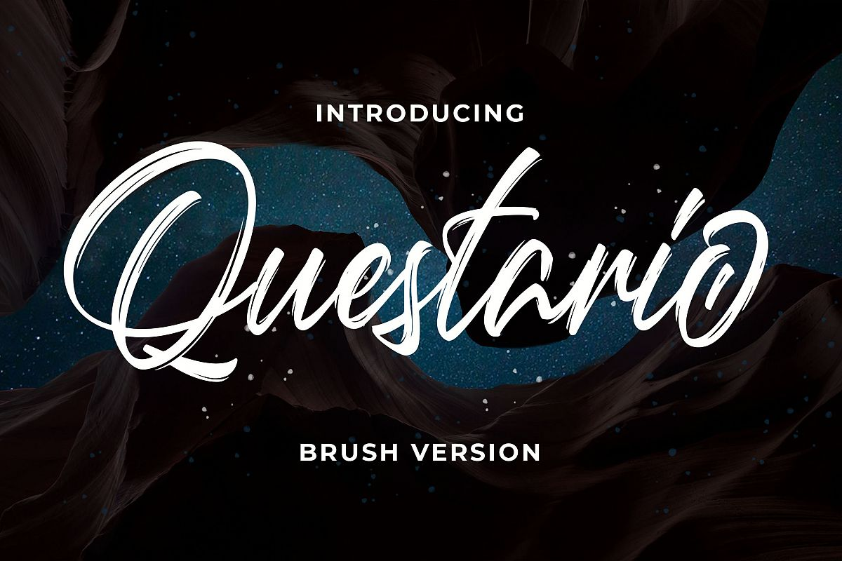 Questario Brush Style example image 1