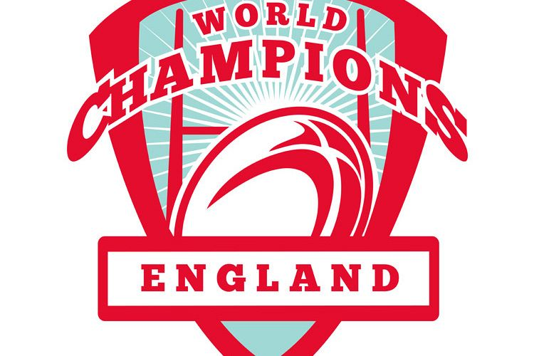 Rugby ball England World Champions example image 1