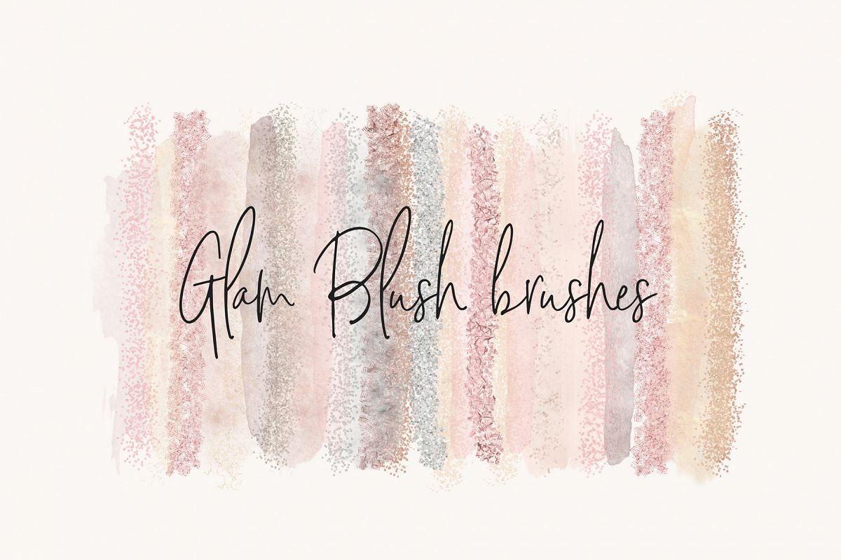 Glam Blush Brushes example image