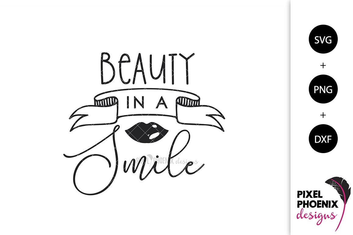 Beauty in a Smile SVG example image 1