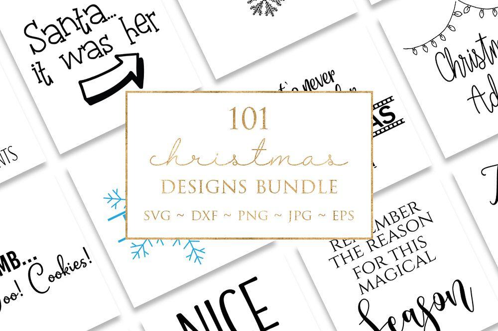 101 Christmas Design Bundle example image 1