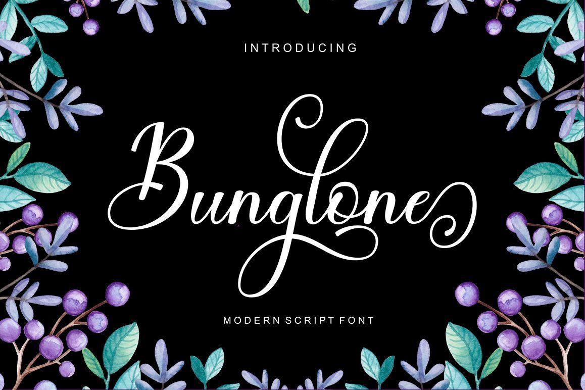 Bunglone example image 1