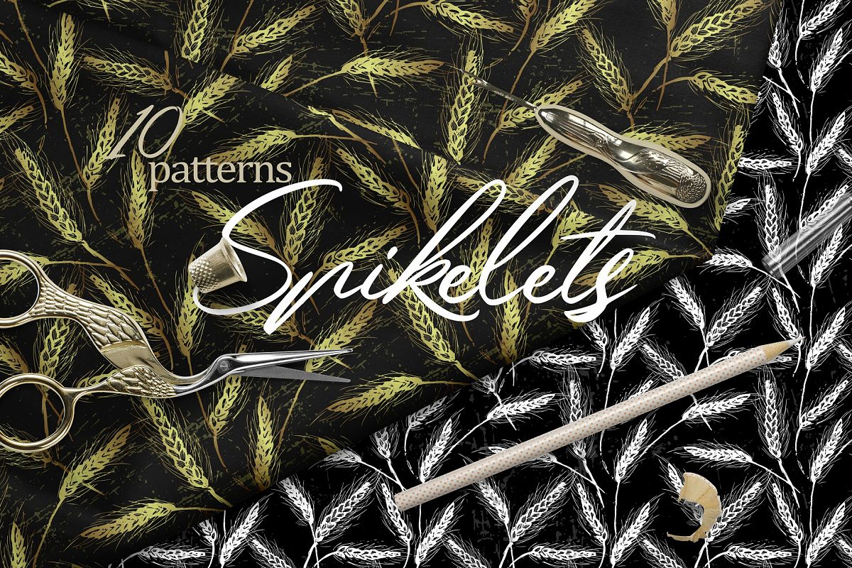 Spikelets Pattern Collection example image 1