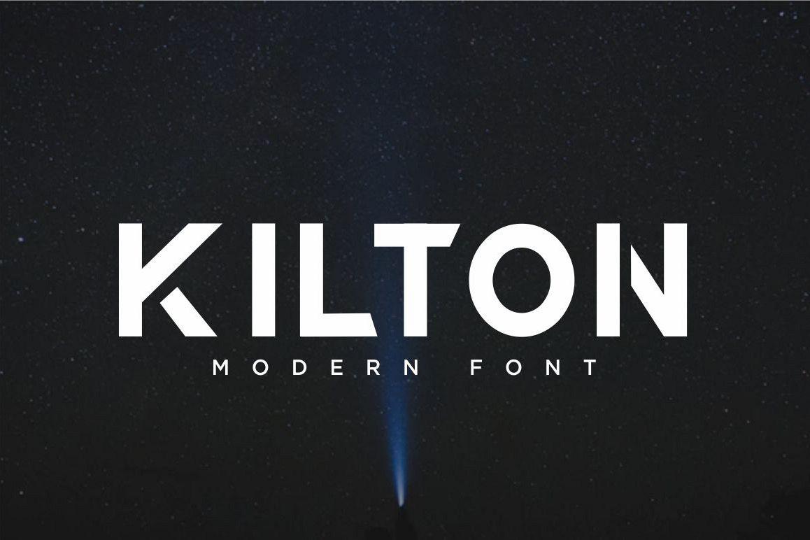 KILTON - MODERN SANS SERIF example image 1