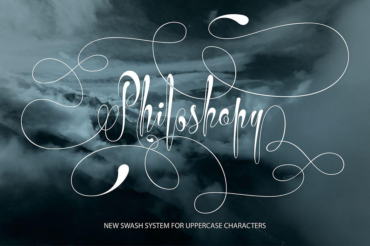 Philoshopy Script example image 1