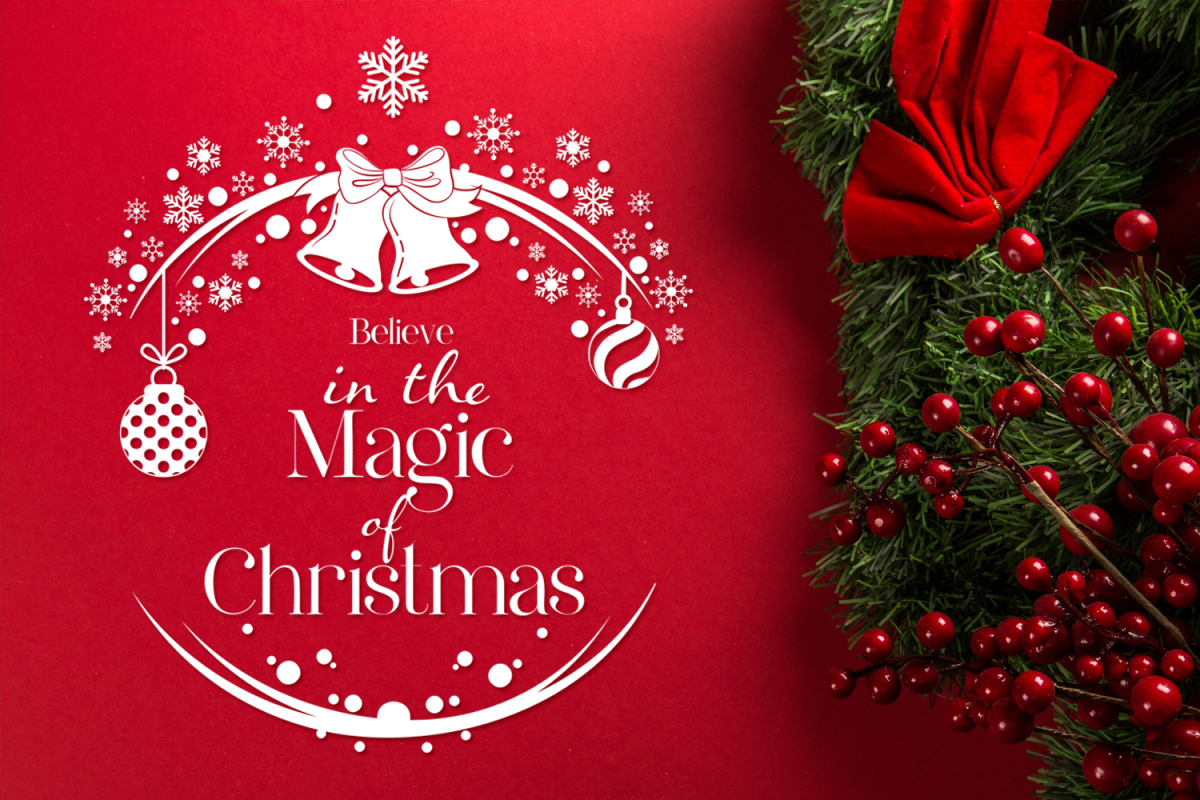 Magic Of Christmas.Believe In The Magic Of Christmas Christmas Svg Cut File