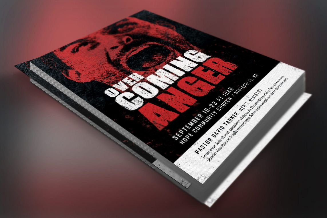 Overcoming Anger Flyer Template example image 1