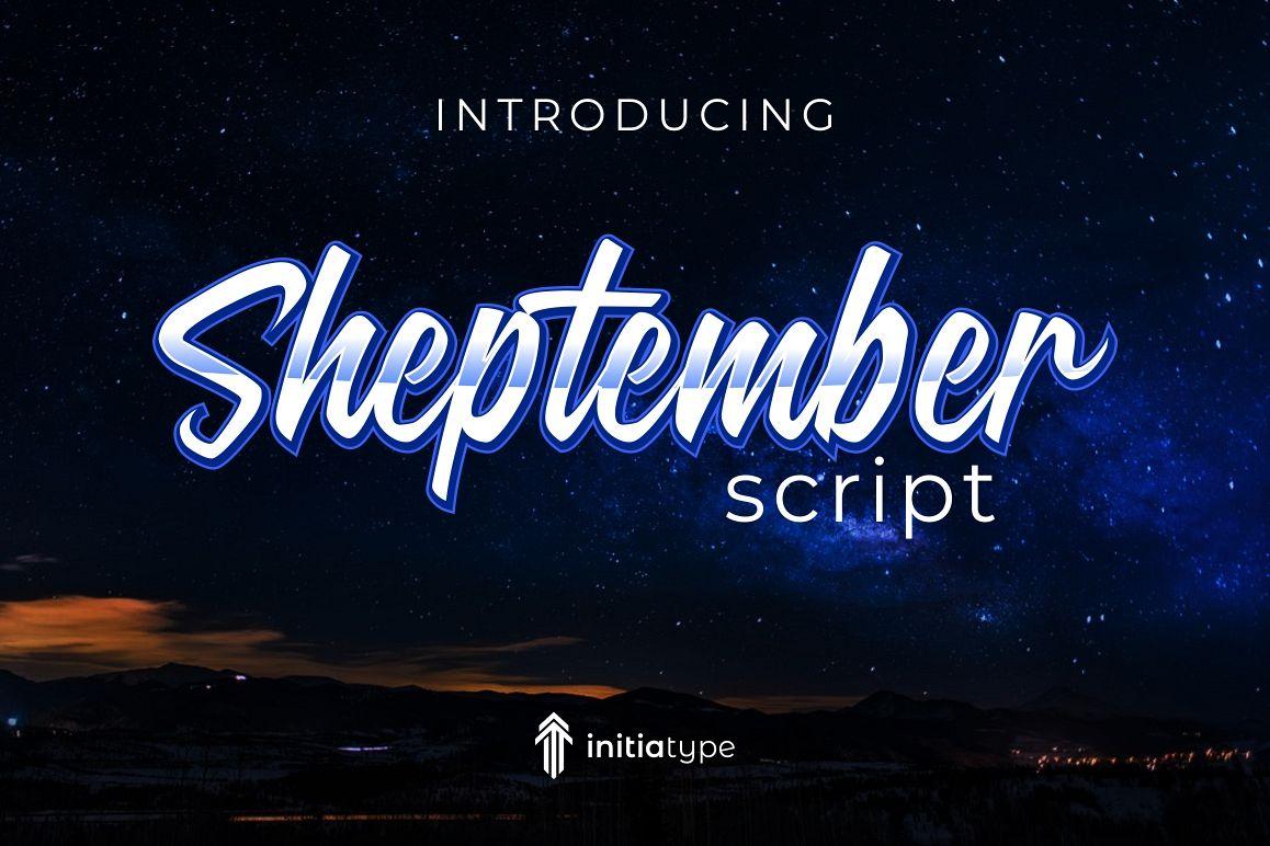 Sheptember Script example image 1