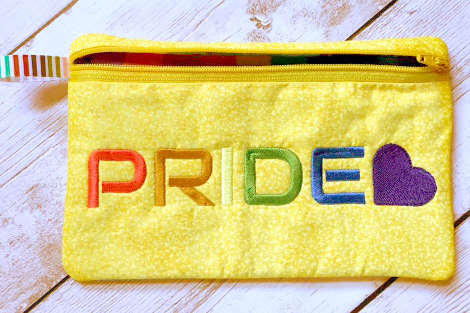 Pride LGBTQIA Embroidery example image 1