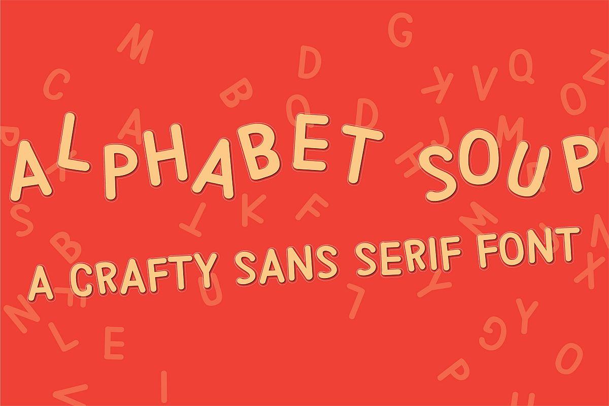 PN Alphabet Soup example image 1
