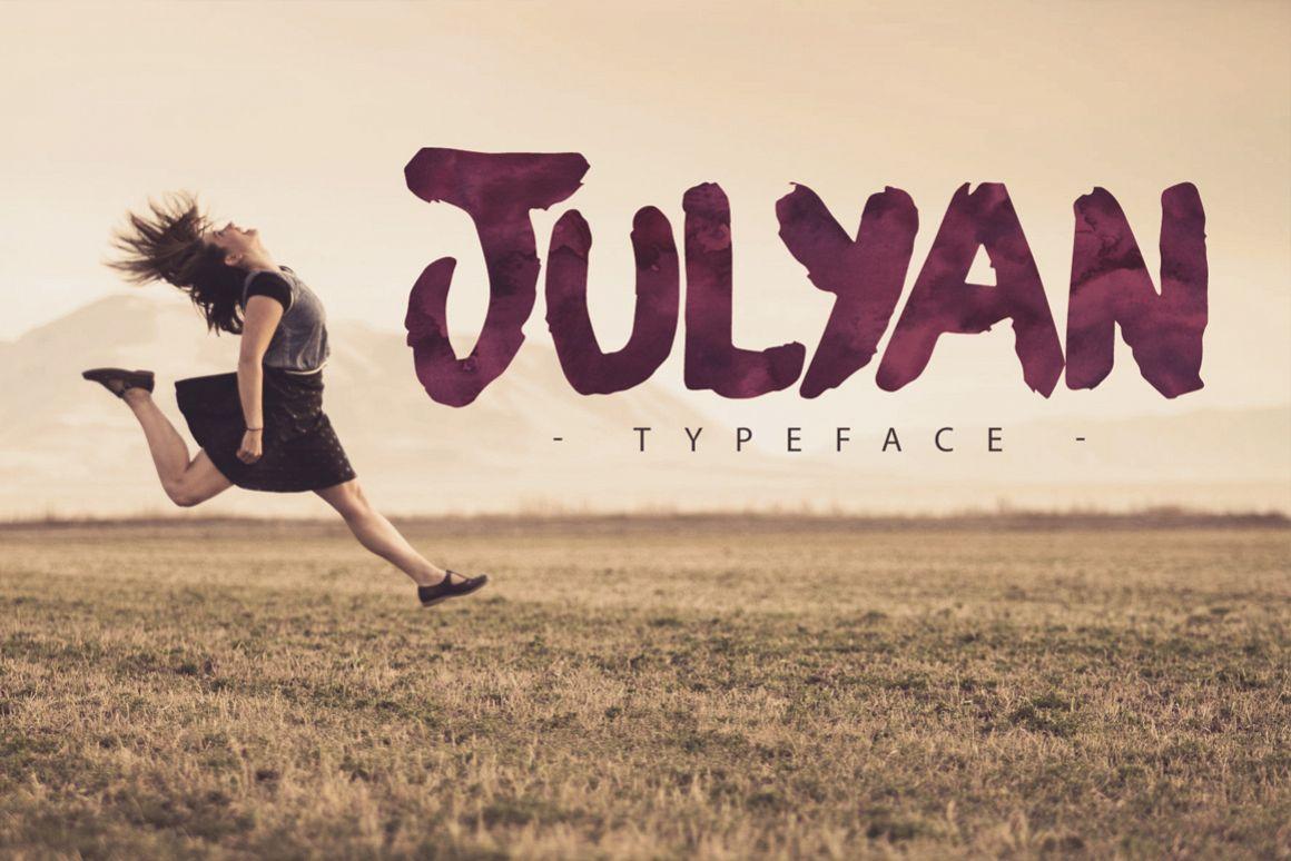 Julyan Typeface example image 1