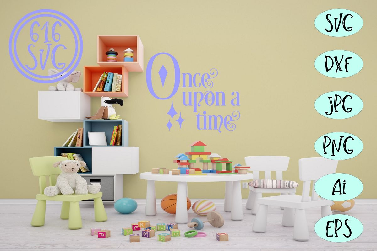 Once upon a time SVG example image 1