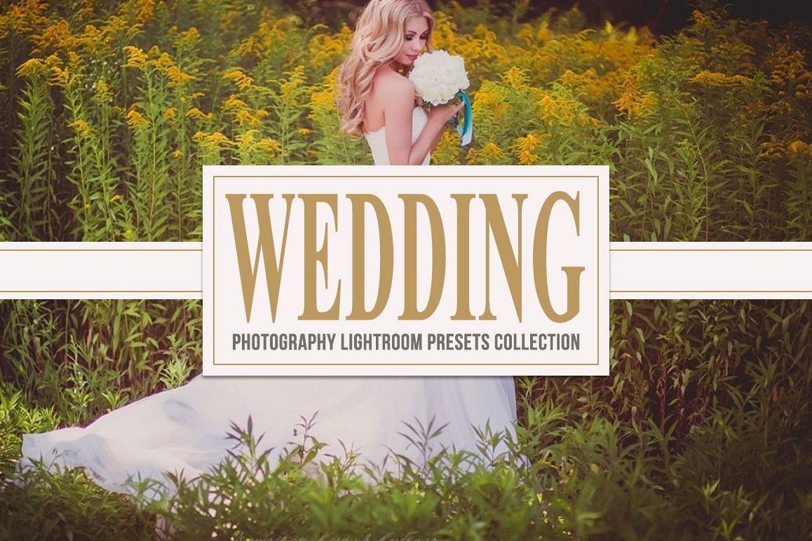 Wedding Lightroom Presets Collection example image 1