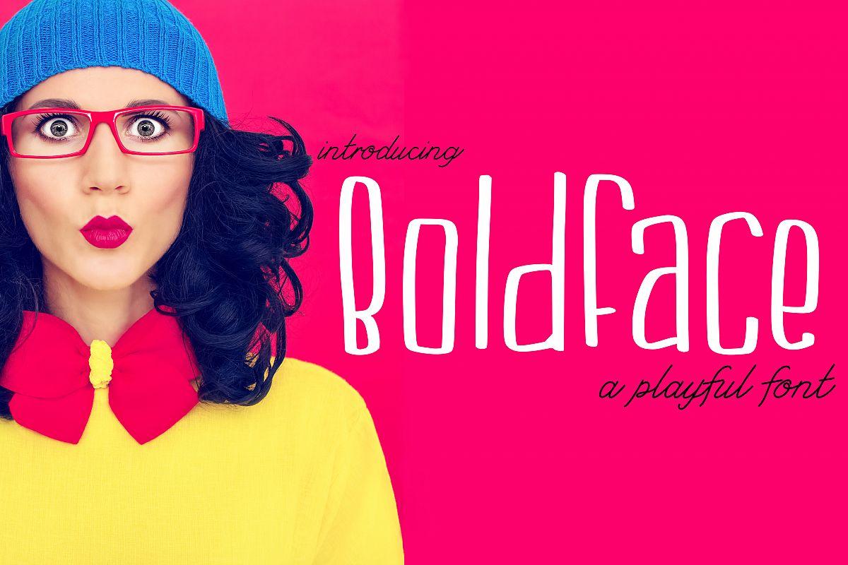 Boldface example image 1